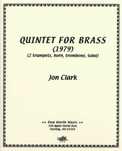 Quintet for Brass (cover)